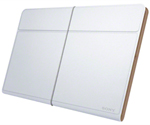 Sony SGPCV5-White Leather Cover for Xperia Tablet Z
