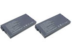Sony Battery for Sony PCGA-BP1N (2-Pack) Replacement Battery