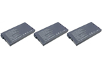 Replacement Battery for Sony PCGA-BP1N (3-Pack)